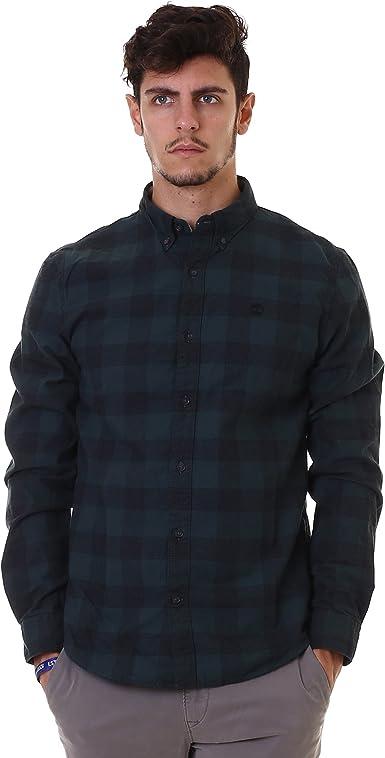 Timberland LS Back RV Herrgb Pl Camisa para Hombre