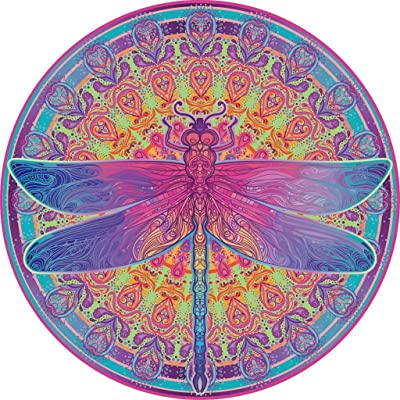 Fewear Jigsaws Puzzles 1000Pieces for Adult,Dragonfly-1000 Pieces Vivid Dragonfly Mandala Vividly Animal Challenge Puzzles (Multicolor): Sports & Outdoors