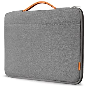 "Inateck 13-13.3"" Sleeve Case Briefcase Cover Protective Bag Ultrabook Netbook Carrying Protector Handbag Compatible 13"" MacBook Air/MacBook Pro(Retina) 2012-2015, 2018/2017/2016 Dark Gray (LB1302)"