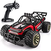 Sgile 15 KM/H Remote Control Race Car with 2 Rechargeable Battery (Red)