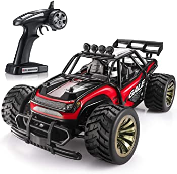 SGILE 15 KM/H Remote Control Race Car with 2 Rechargeable Batteries