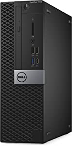 Dell OptiPlex 7050 Small Form Factor Desktop Computer, Intel Core i5-7500, 8GB DDR4, 256GB Solid State Drive, Windows 10 Pro (1735H)