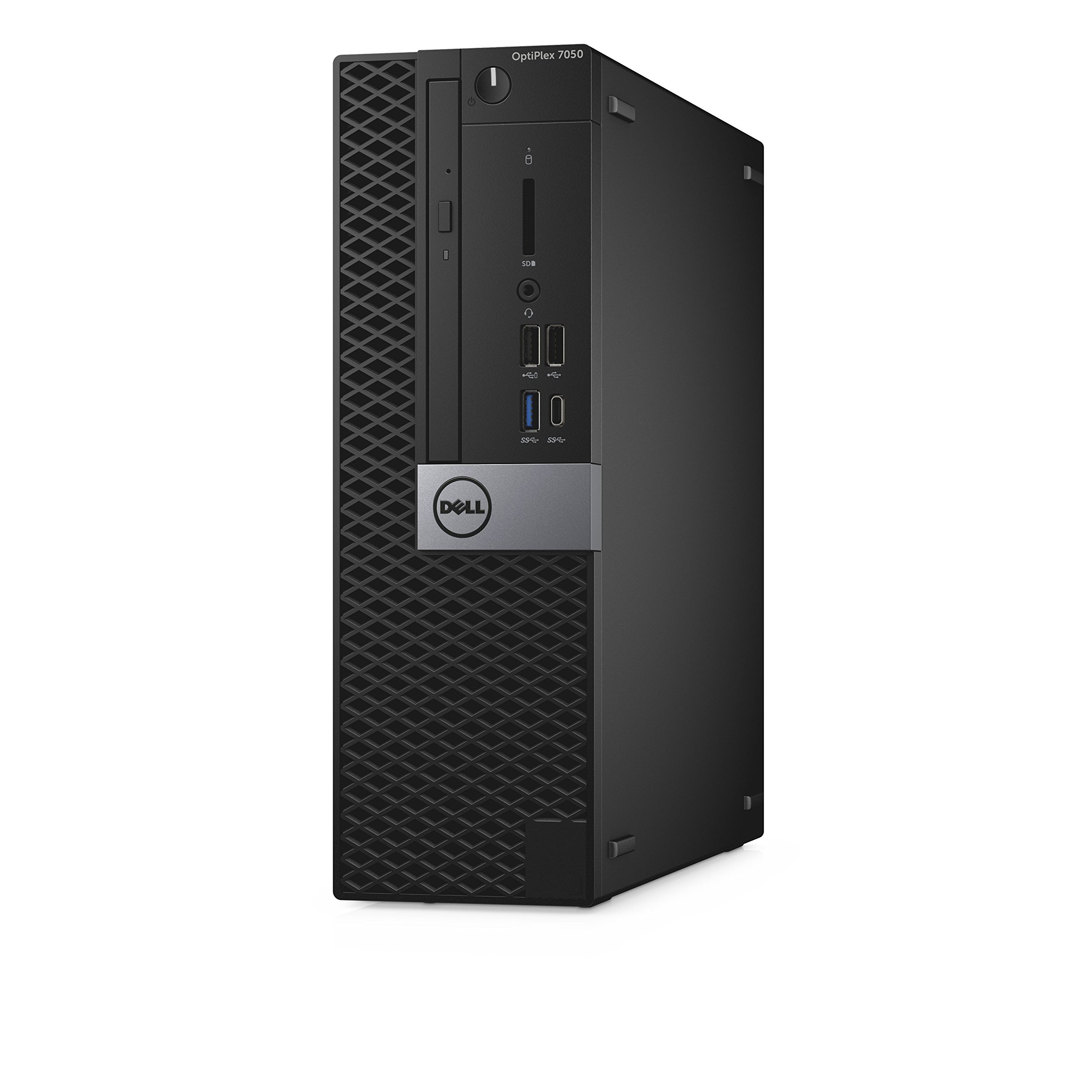 Dell OptiPlex 7050 Small Form Factor Desktop Computer, Intel Core i7-7700, 16GB DDR4, 256GB Solid State Drive, Windows 10 Pro (XNDVW) by Dell
