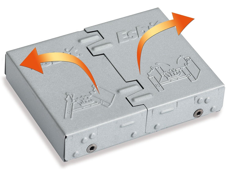 Amazon.com : Esbit Large Ultralight Folding Pocket Stove with 12 ...