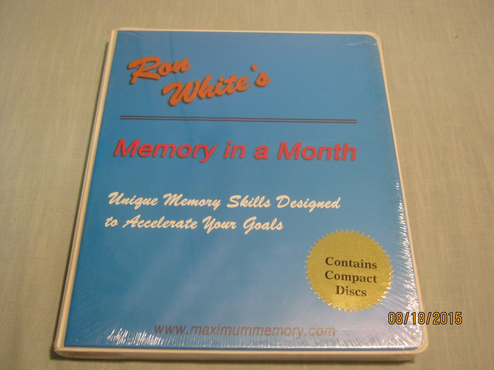 Memory in a Month by Ron White (2001-01-01): Amazon.es: Ron ...