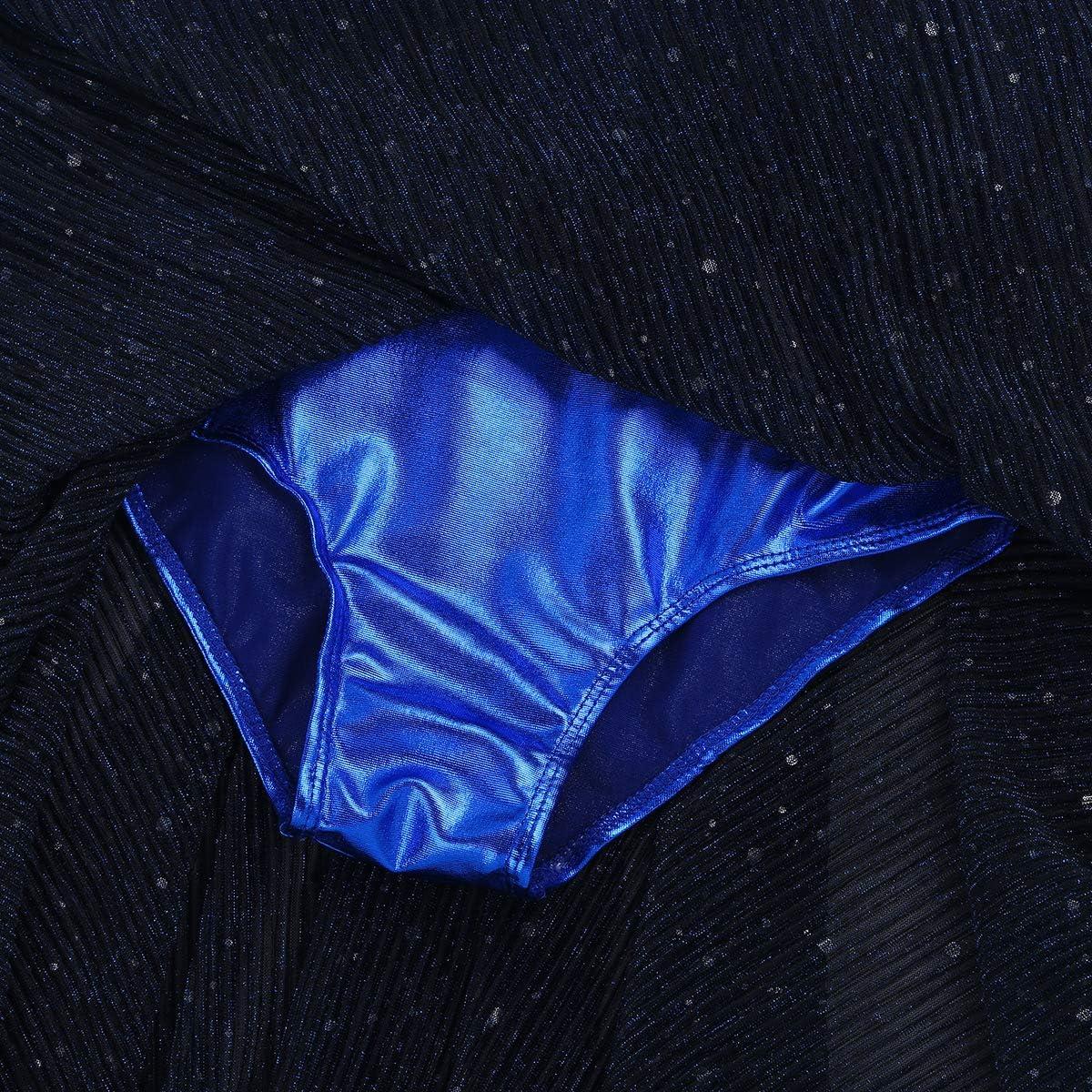Tiaobug M/ädchen Ballettkleid Spagetti-tr/äger Kinder Ballettanzug Langer Glitzer Mesh Rock Punkten Ballettkleidung Tanz-Body Kost/üm gr.104-152
