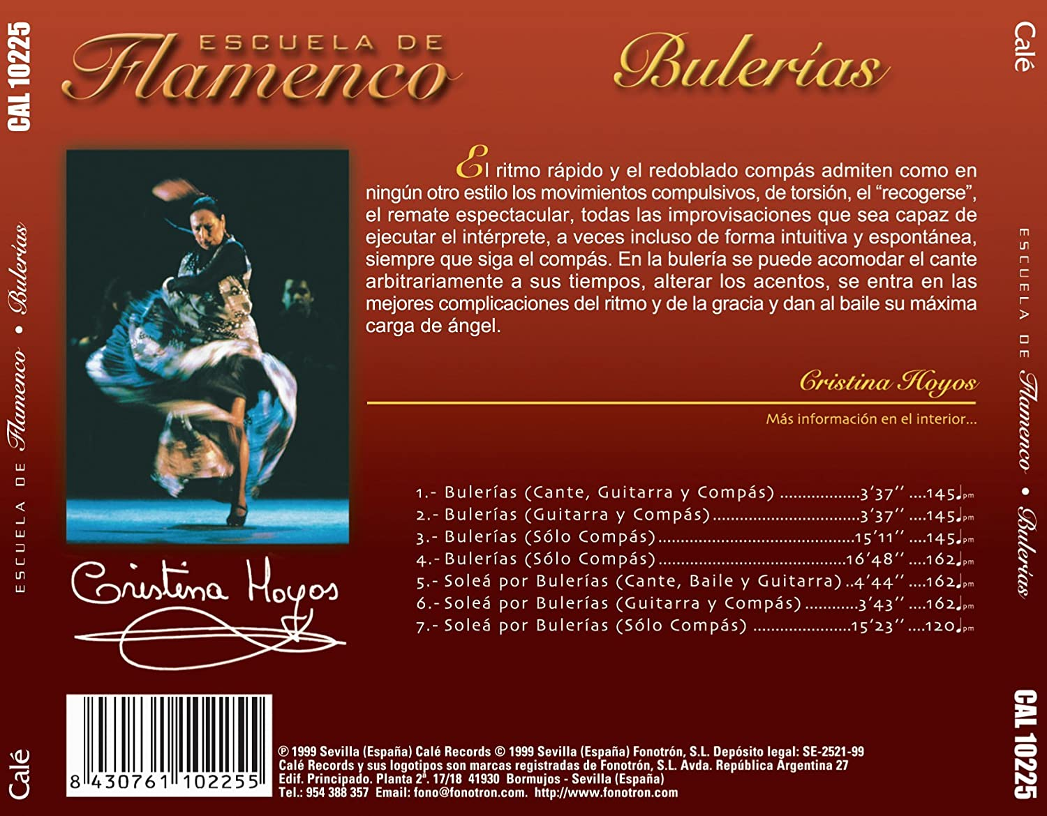 Escuela De Flamenco: Bulerias: Various Artists: Amazon.es: Música