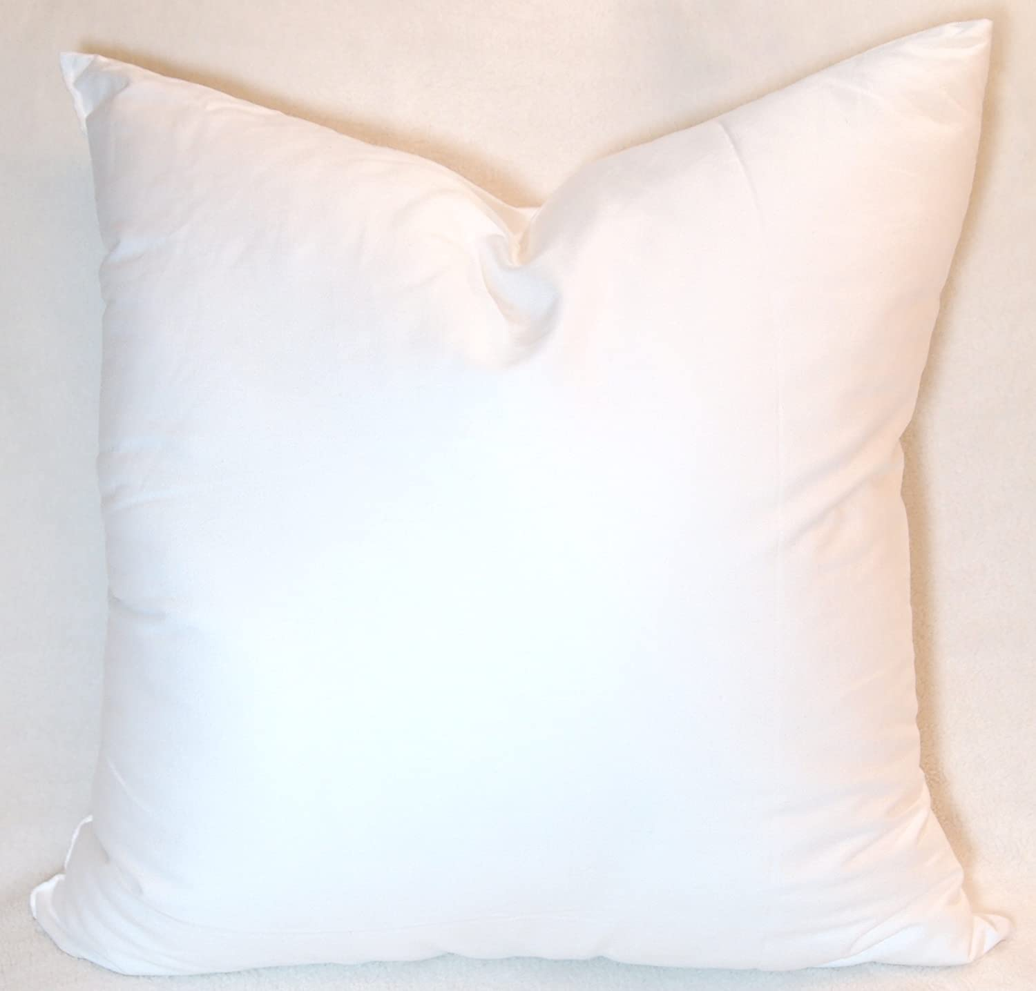amazoncom pillowflex synthetic down pillow form insert 22 by 22inch home u0026 kitchen