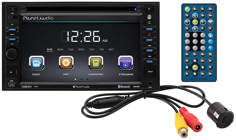 Planet Audio Wiring Enthusiast Diagrams Amazon Com P9640brc Double Din Touchscreen Bluetooth Rh Ac10d
