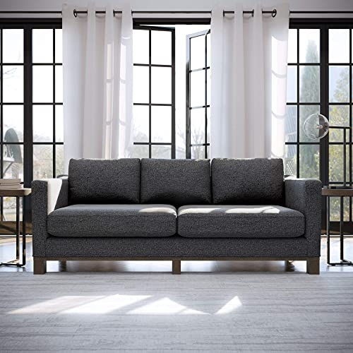 Edenbrook Parkview Upholstered Wood Base-Two-Cushion Design-Contemporary Feel