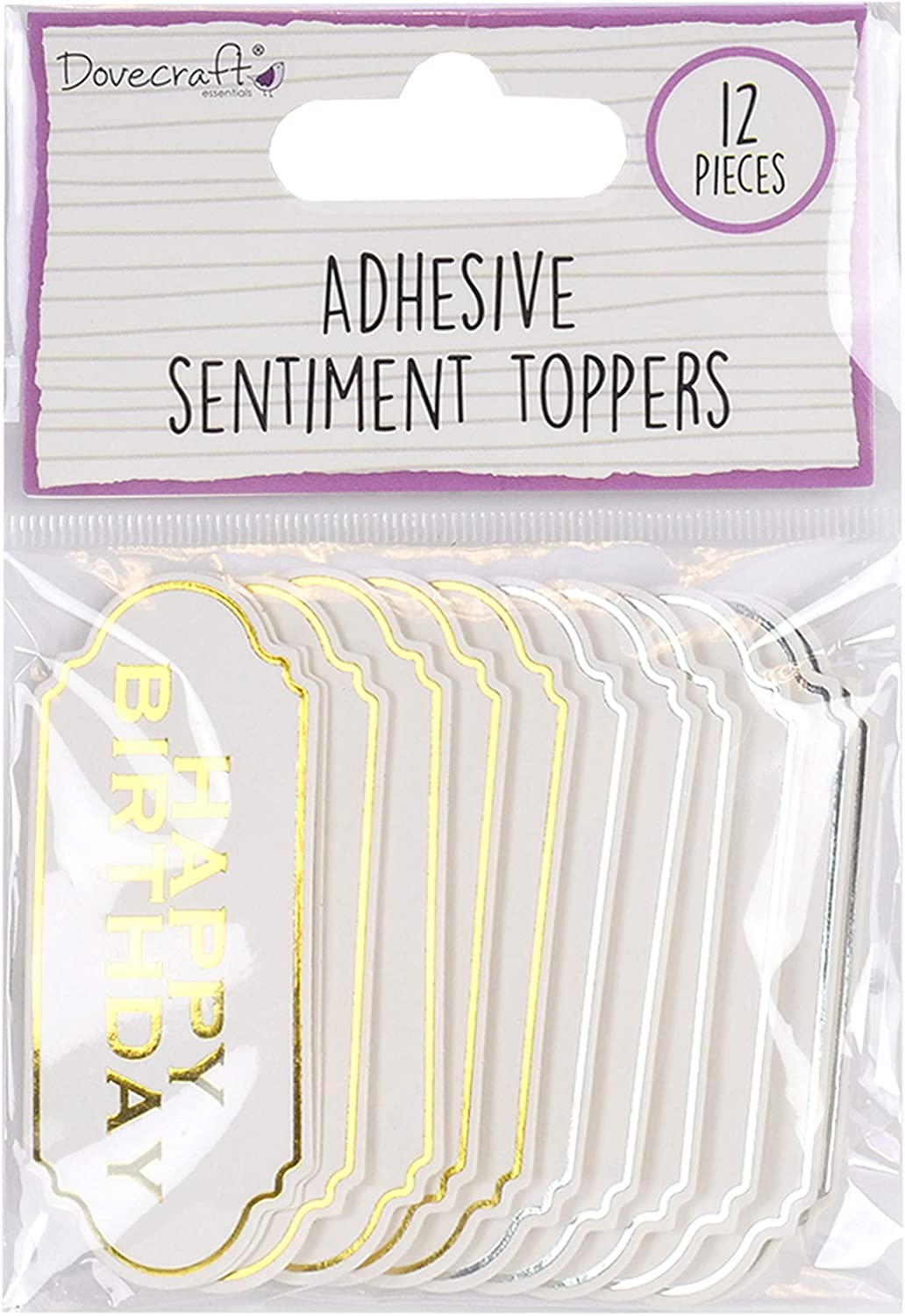 multifarben Dovecraft DCBS181 Die Cut Toppers One Size