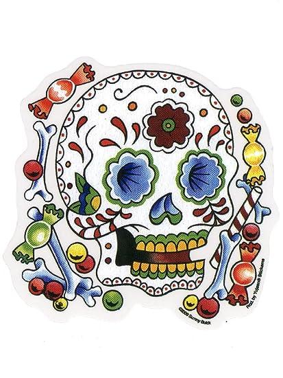 Sunny buick candy sugar skull sticker decal
