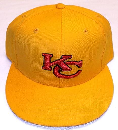 49989e77 Amazon.com : Kansas City Chiefs NFL Fitted Size 7 1/2 Hat Cap ...