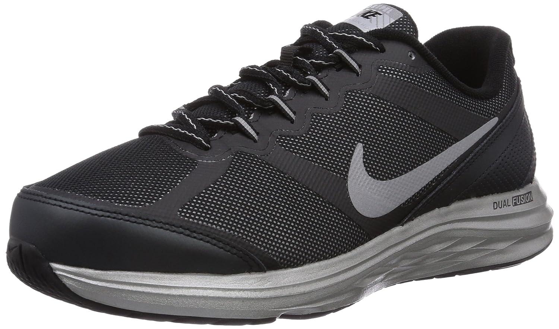 Nike - Zapatillas de running Dual Fusion Run 3 Flash para niños, color Negro (Black/Reflect Silver-White), talla 35.5 (3 UK): Amazon.es: Zapatos y complementos