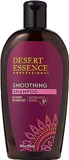 product image for Desert Essence Smoothing Shampoo - 10 Fl Oz - Hi-Gloss Technology - Increases Shine 5x - Apple Cider Vinegar - Quinoa Protein - Tea Tree Oil - Retains Hair Moisture - Sulfate-Free