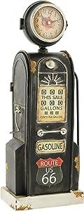 The Bridge Collection Retro Route 66 Gas Pump Desk Clock