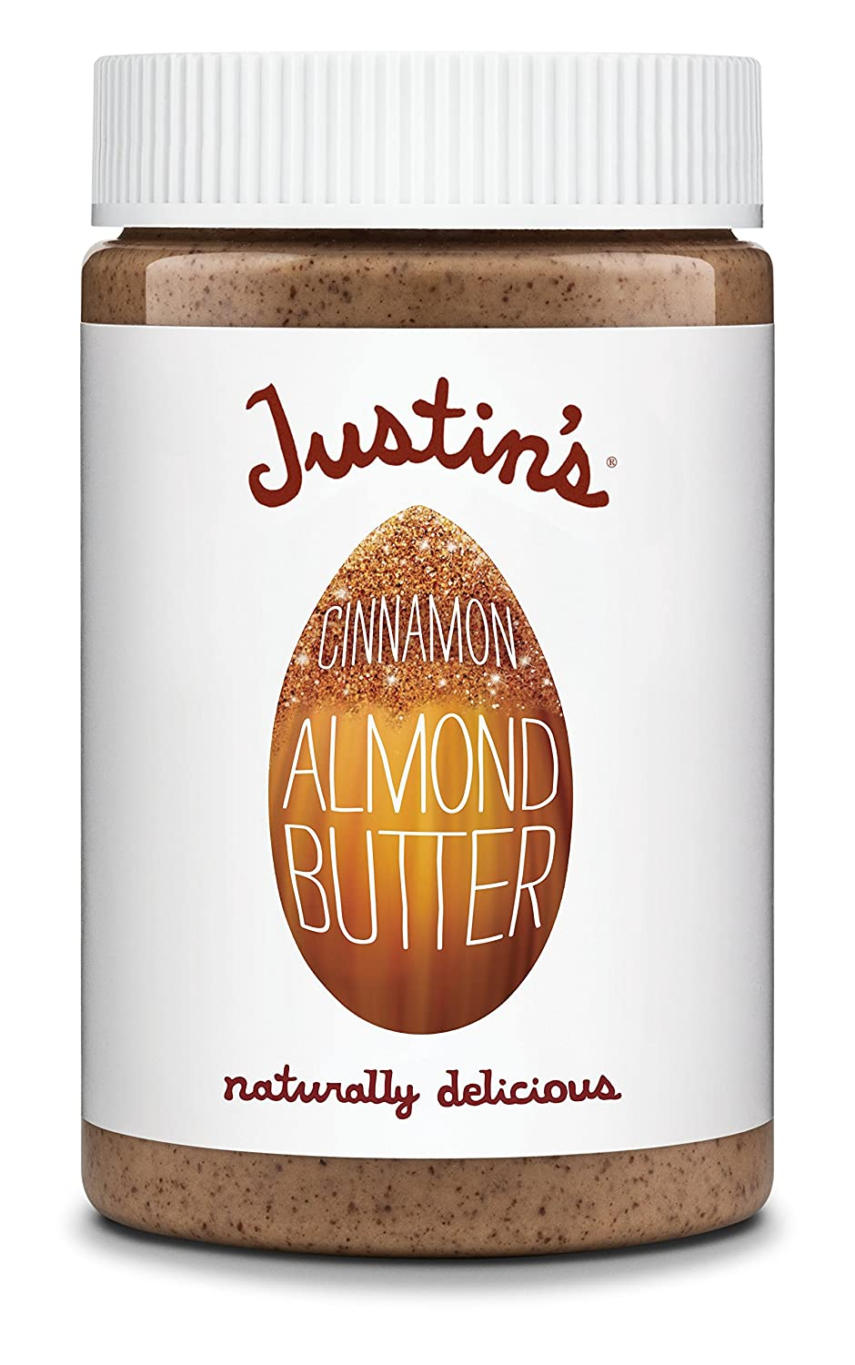 Amazon.com : Cinnamon Almond Butter by Justins, No Stir, Gluten-free, Non-GMO, Responsibly Sourced, 6 Jars (16oz each) : Grocery & Gourmet Food