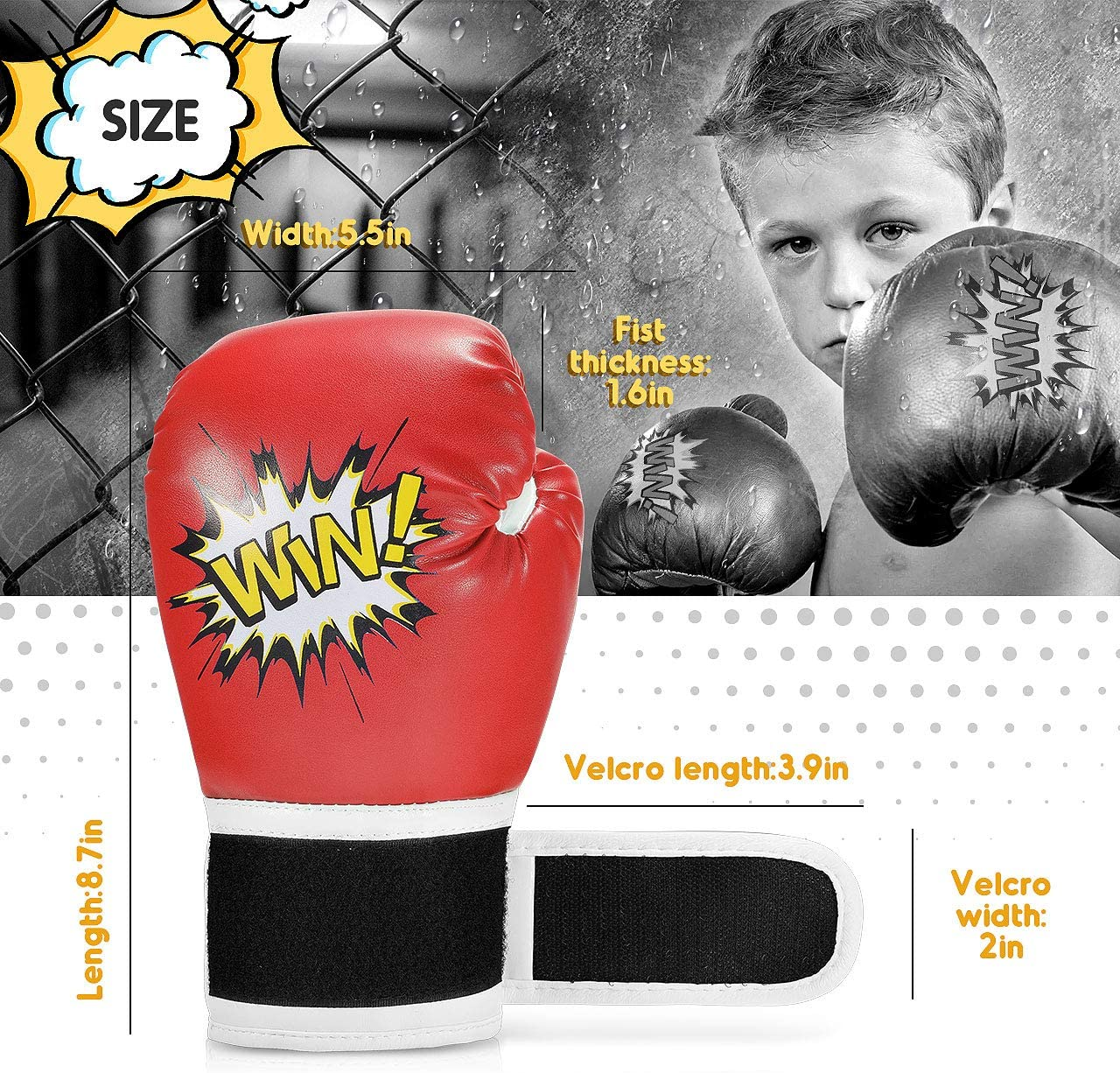 LetsGO toyz Kids Boxing Gloves Best Gifts /& Toy
