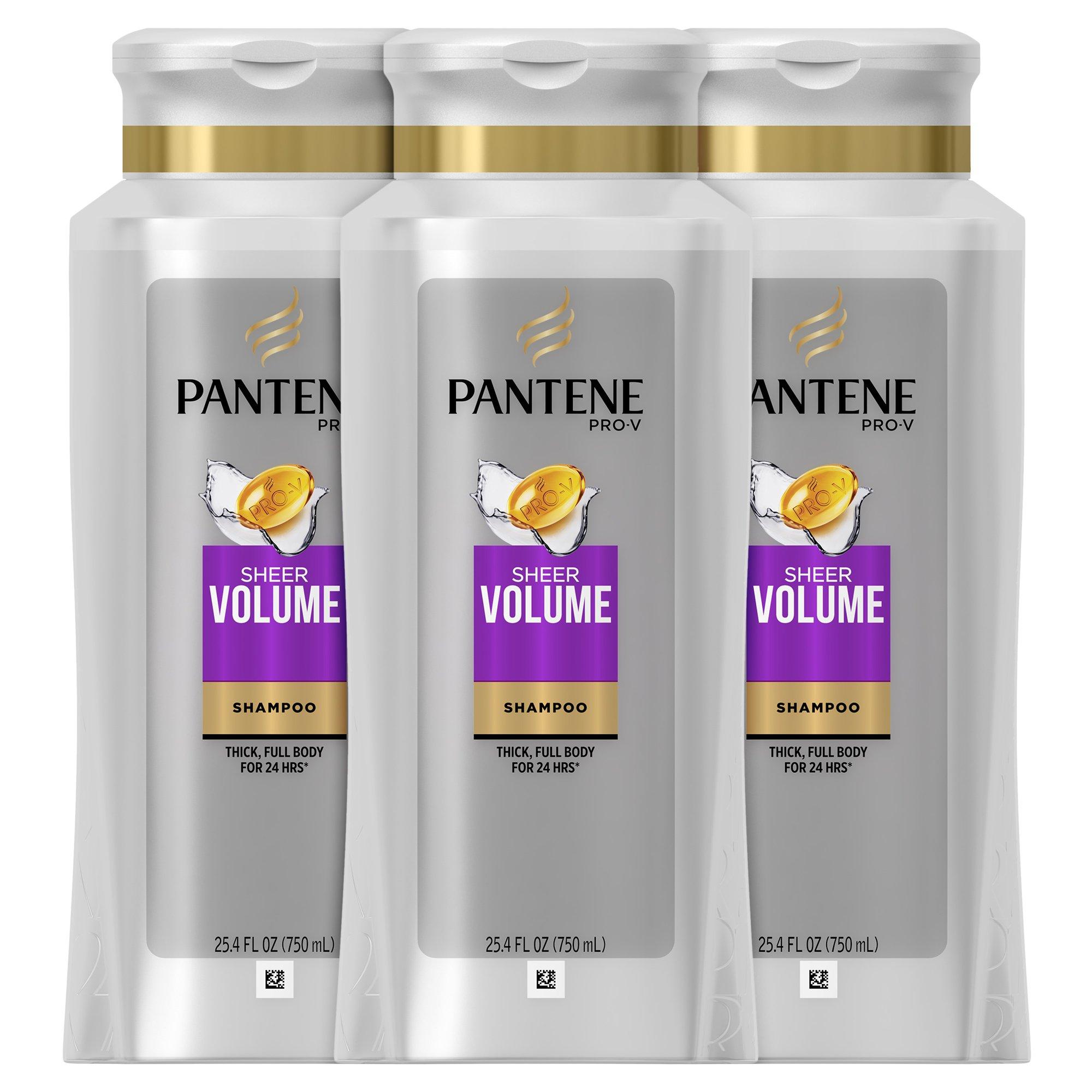 Pantene Pro-V Sheer Volume C,25.4 Fl Oz,Pack of 3