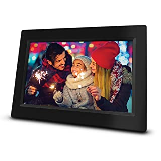 """RCA 10"""" Wi-Fi Digital Photo Frame   Photo and Video Playback, 8GB Internal Storage, Touch Screen, Slideshow Feature. Instantly Sharing Memories. Worldwide Connectivity."""