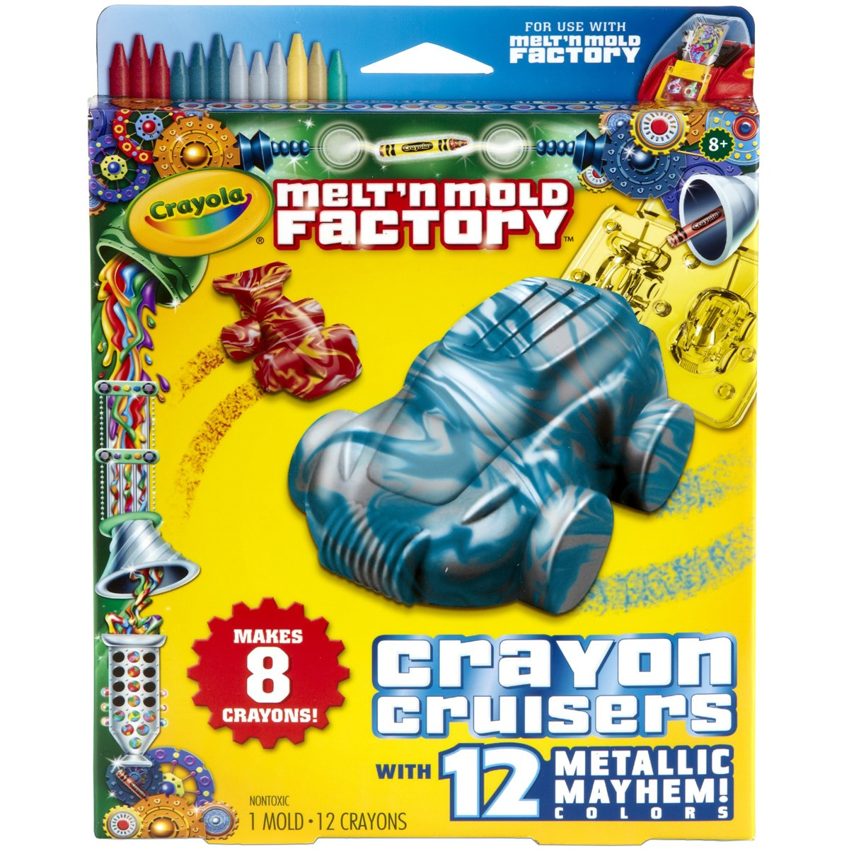 Crayola Melt 'N Mold Crayon Cruiser Expansion Pack