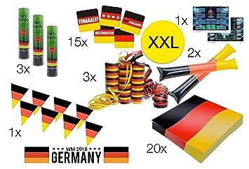 Dekoration Deutschland.Tk Gruppe Timo Klingler Xxl Deko Dekoration Set Fanartikel
