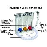 Wonder Care- Deep Breathing Volumetric Lung Exerciser ,Breath measurement system - Washable & Hygienic
