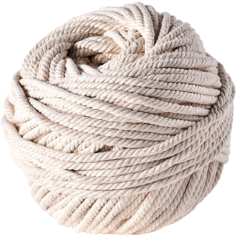 Amazon Com Pangda Cotton Macrame Cord Twine Craft Rope Yarn For