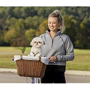 Cesta Solvit para bicicleta para llevar mascotas