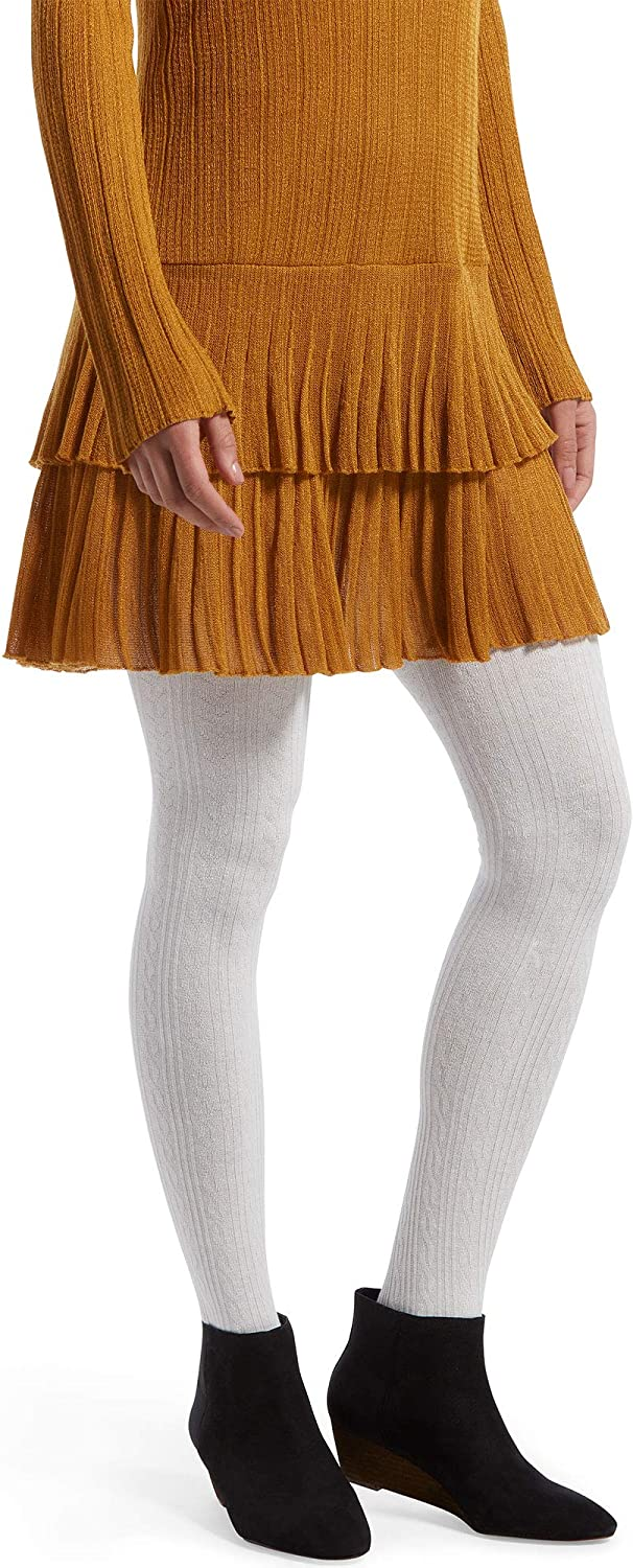 Hue womens Fashion Sweater Tights With Non Control Top Assorted Tights
