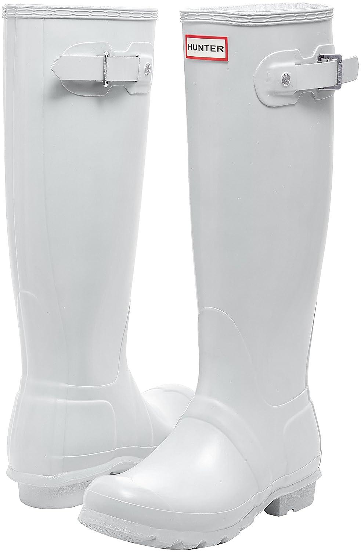Hunter Women's Original 8 Tall Rain Boot B01N7OOOPD 8 Original B(M) US|White 1c4526