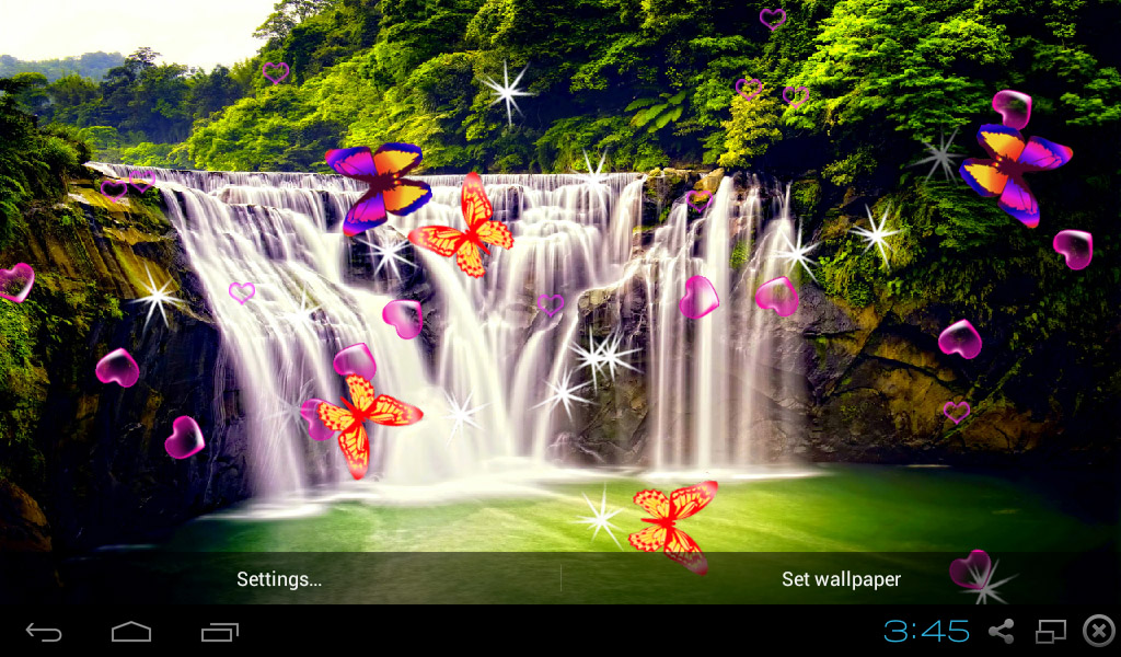Amazon Com 3d Waterfall Live Wallpaper Appstore For Android