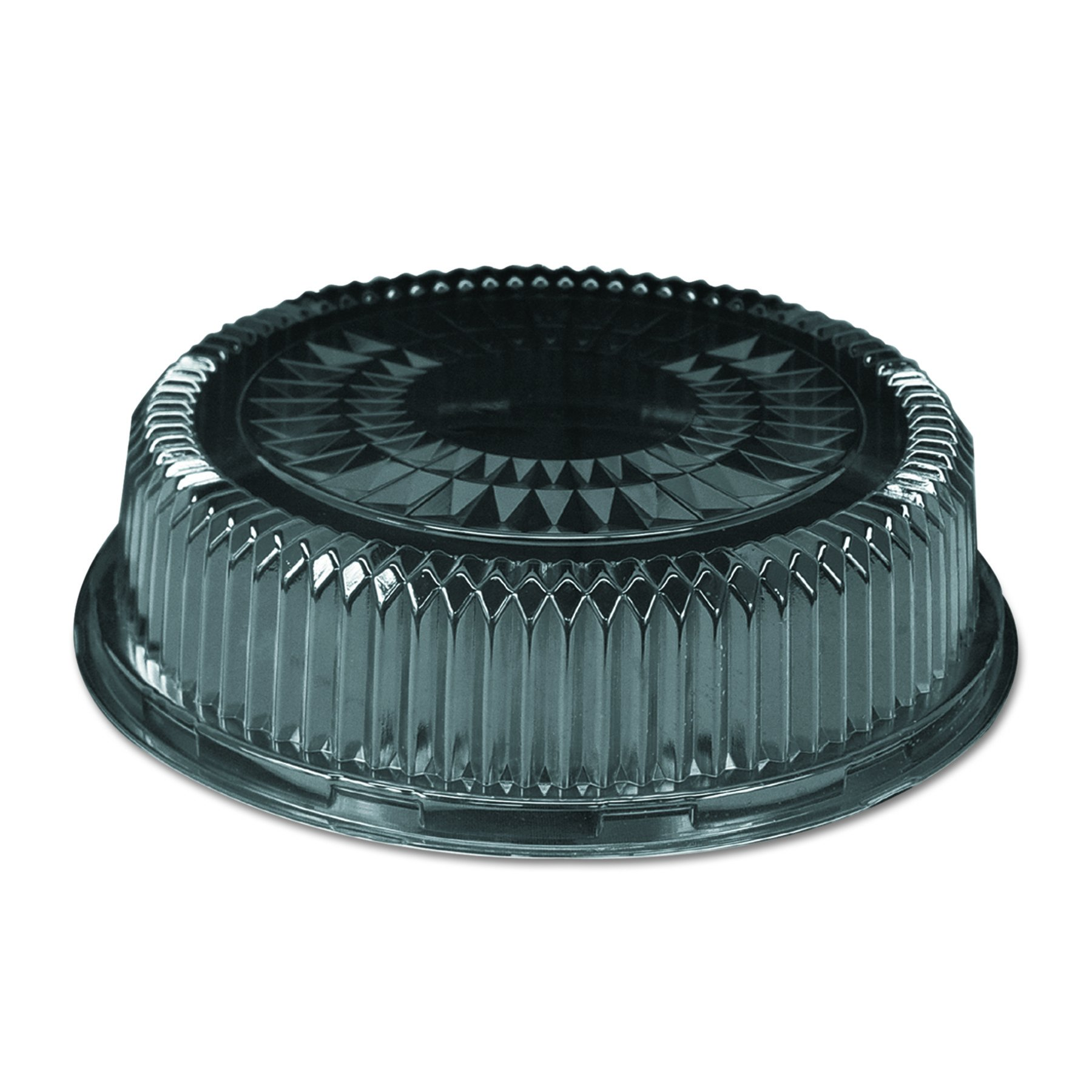 Handi-Foil of America 4012DL Plastic Dome Lid, Round, Embossed, 12 in, Fits 4012/4013 (Case of 25)