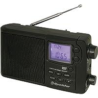 Roadstar TRA-2425PSW - Radio (Alarma, Pantalla LCD), Color Negro
