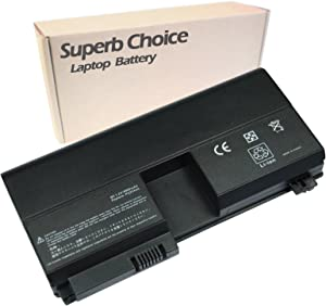 Superb Choice 8-Cell Battery Compatible with HP Pavilion tx2000ed tx1000 tx1100 tx1200 tx1300 tx1400 tx2000 tx2100 tx2500 tx2600 tx2510