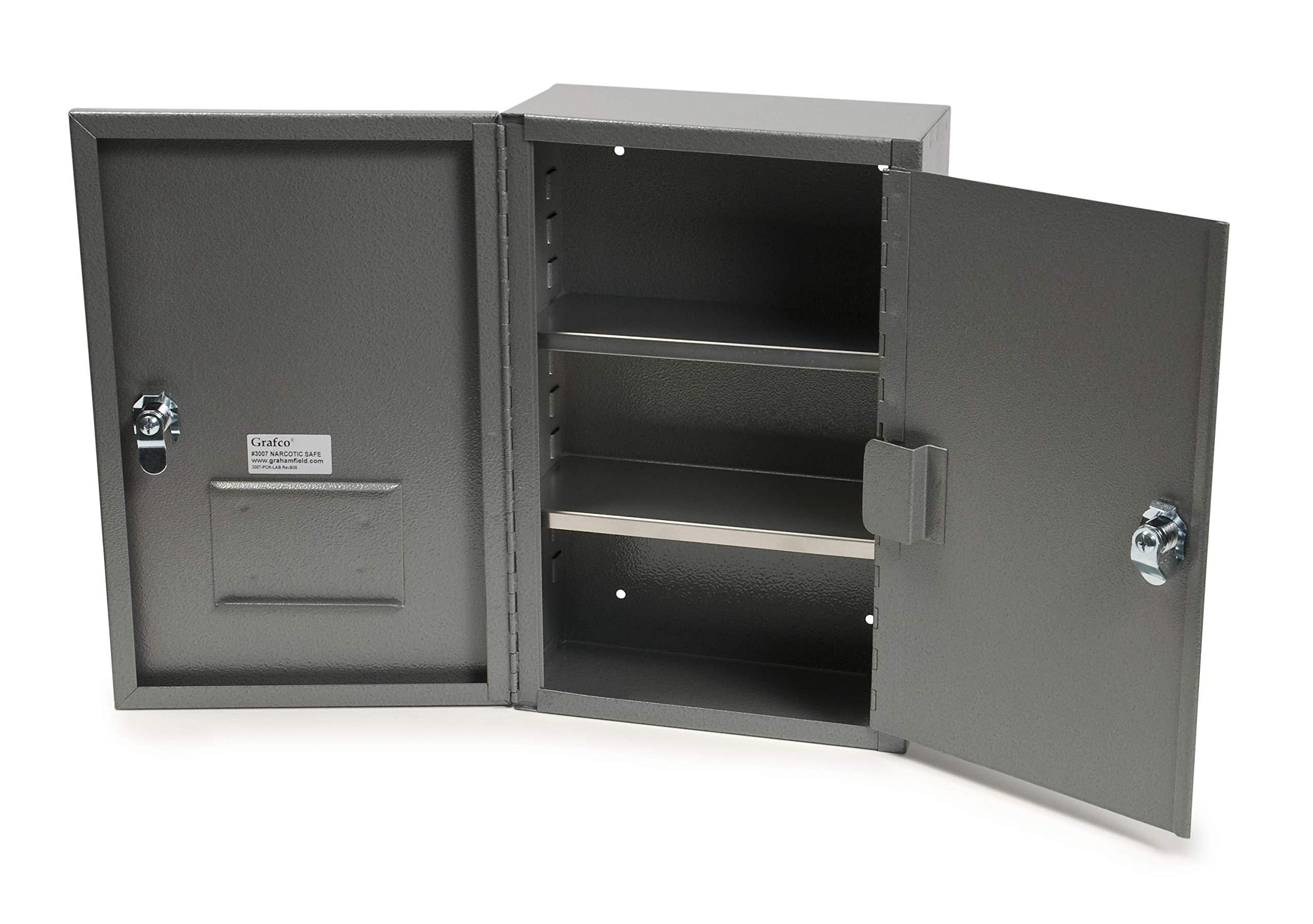 Grafco 3008 Narcotic Safe, 24'' x 16'' x 8'', 22 lb. Capacity