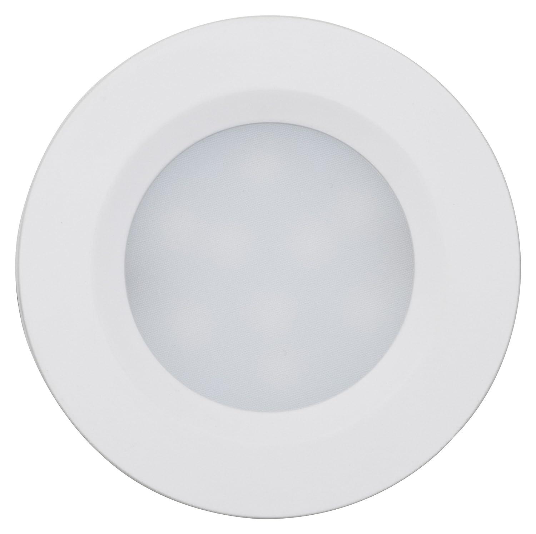 Müller-Licht–400079LED Lámpara de techo Cabinet Spots Flat Juego de 4, plástico, 7.5W, color blanco, 5.5x 5.5x 1cm