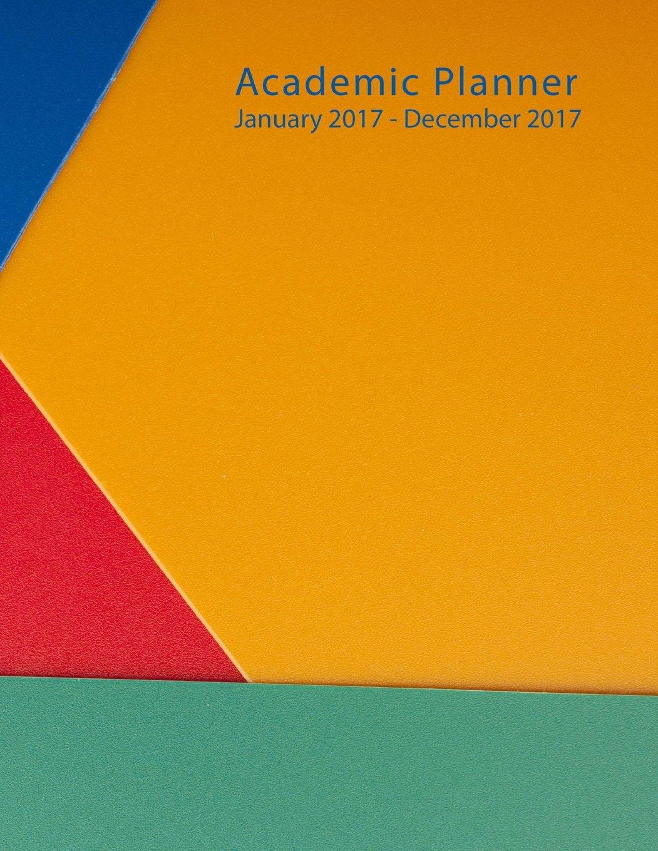 Download 2017 Academic Planner: Full Size - Orange / Green Cover PDF