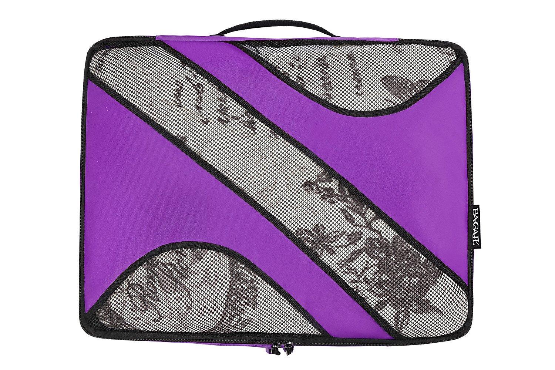 Bagail 6 Set Packing Cubes3 Various Sizes Travel Luggage Packing Organizers