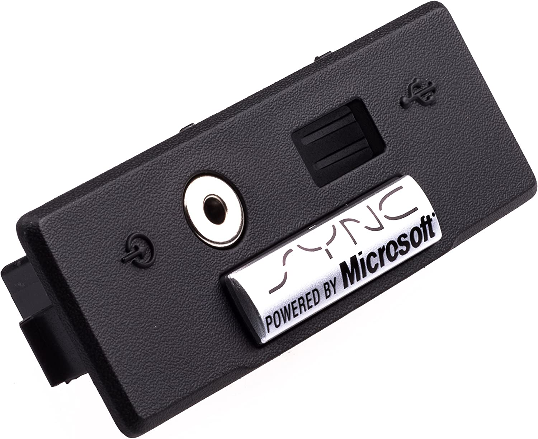 2009-2014 Ford F150 Microsoft Sync Center Console Radio Audio USB Jack Bezel OEM