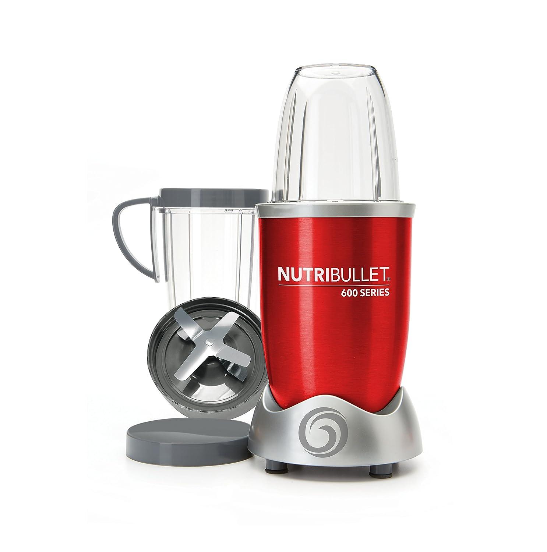 NutriBullet NUTRI600G Batidora de vaso 950L 600W Gris - Licuadora (950 L, 21500 RPM, Batidora de vaso, Gris, De plástico, Acero inoxidable): Amazon.es: ...