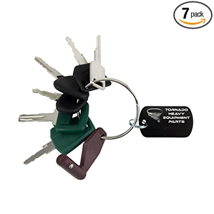 Amazon com: Construction Heavy Equipment Master Keys Set