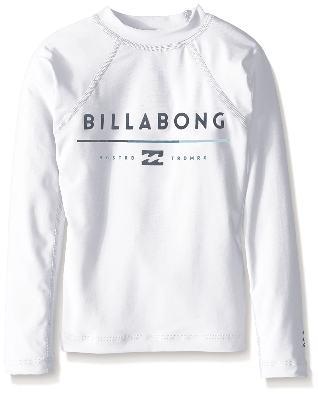 Billabong boys Big Boys All Day Long Sleeve Regular Fit Rashguard White 16 BWLYEALL