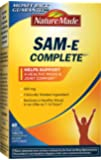 Nature Made SAM-e Complete 200 mg. Tablet (Helps support Healthy Mood & Joint Comfort) Value Size 60 ct