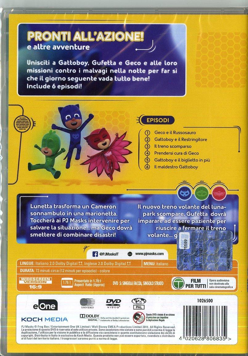 Pj Masks - Super Pigiamini Pronti AllAzione! Gufetta Edition Dvd+Maschera Italia: Amazon.es: Cartoni Animati, De Vita, Dos Santos: Cine y Series TV