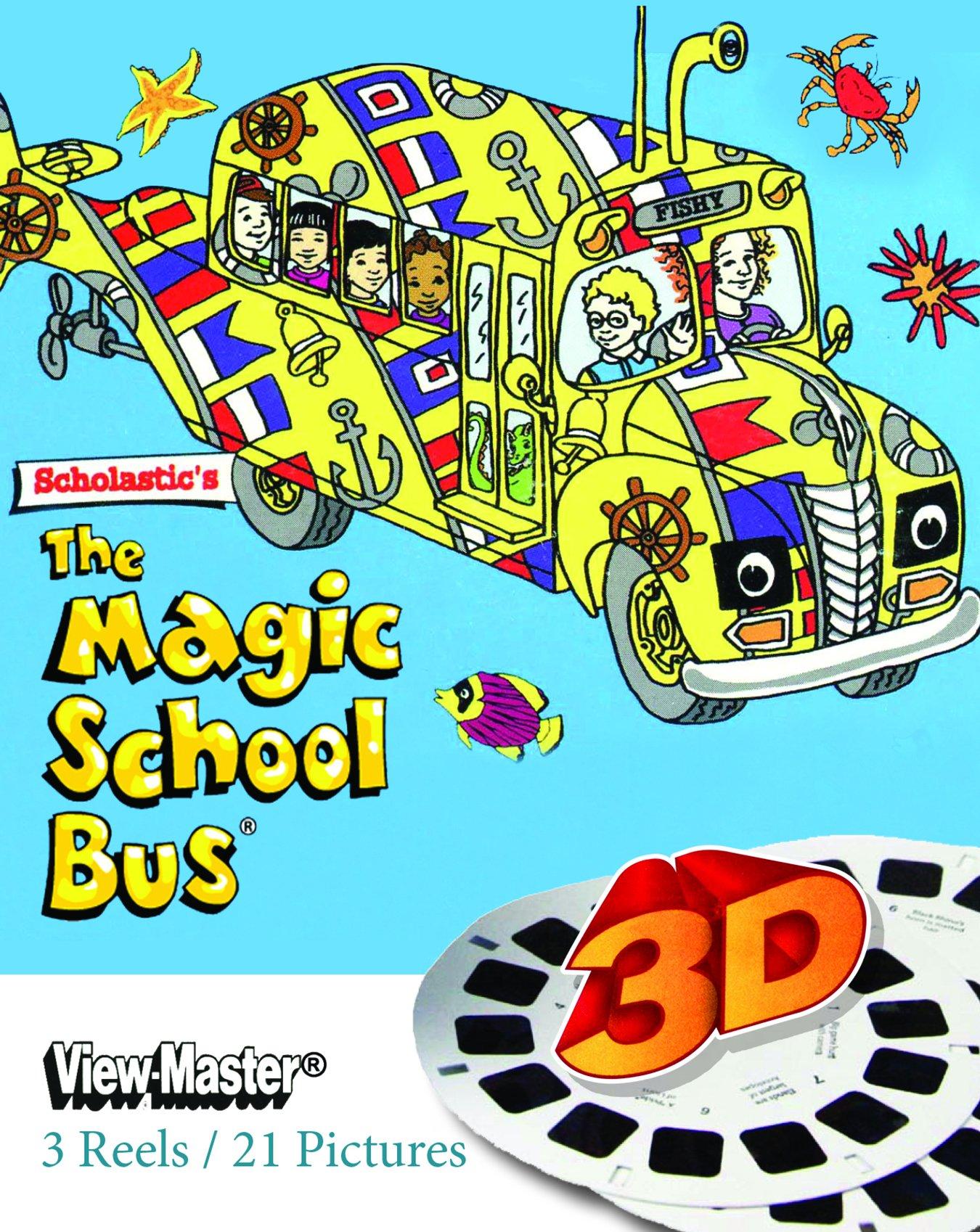 Magic School Bus - Classic ViewMaster - 21 Classic 3D Images - 3 Reel Set