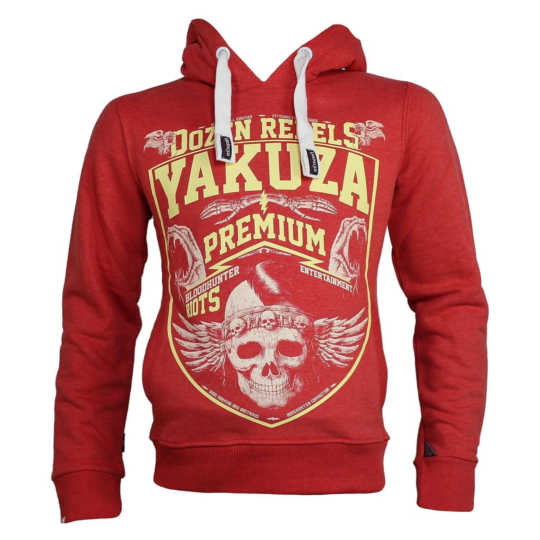 Yakuza Premium Sweatshirt YPH 2422 rot