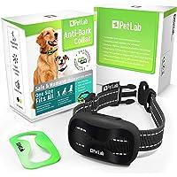 PetLab Hund anti-bark halsband för små stora hundar inget chock skällande halsband anti-skällande enhet träning hund…
