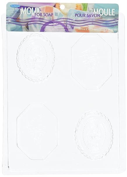 Amazon.com: Jabón Bar mold-oval Rose: Arte, Manualidades y ...