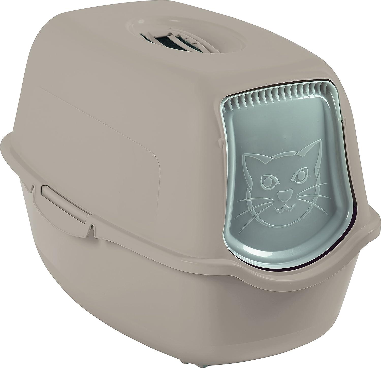 Maison de toilette pour chat noire / blanche ROTHO 4552908080
